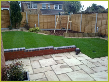 Garden Design Garden Design with Completed Full Garden In