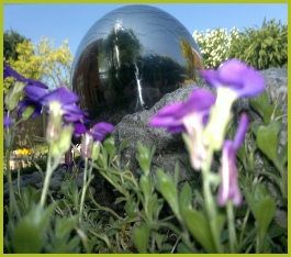 Stainless Steel Ball Water Feature Installation In Redditch