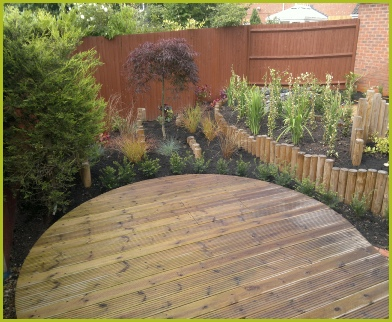 Completed Full Garden In Redditch By Redditch Based Landscape