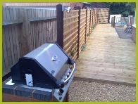 Professional Landscaping Decking Installation In Studley