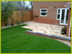 Landscaping Patio Installation In Bromsgrove