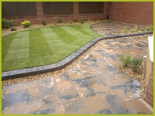 Landscaping Patio Installation Redditch