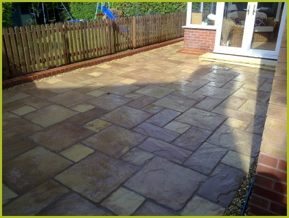 Completed By Redditch Based Landscape Gardeners : Advanscape