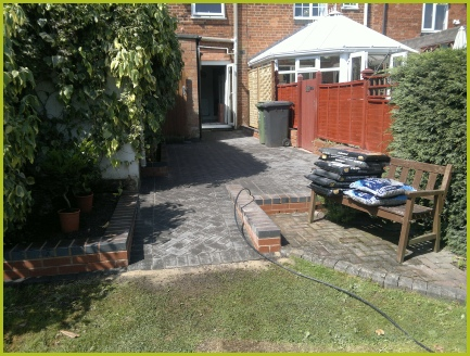 Block Paving Installation Completed By Redditch Based Landscape Gardeners : Advanscape