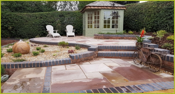 Completed Full Garden In Inkberrow By Redditch Based ...